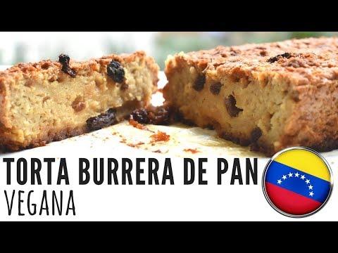 TORTA BURRERA DE PAN VEGANA - COLLAB CON VEGAN NIA