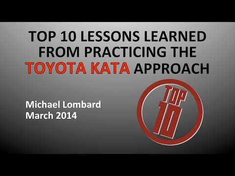 Kata Case Example - Lessons Learned