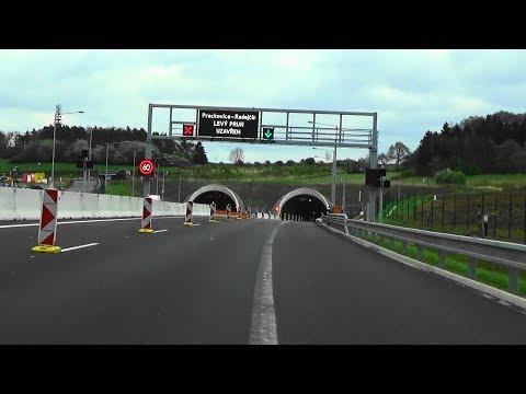 Autobahn A4, A17, D8, E55, Dresden - Prag