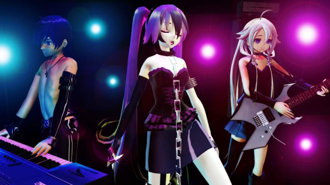 Romeo & Cinderella Cover - [Vocaloid Song] [MMD] Miku ... Vocaloid Kaito Songs