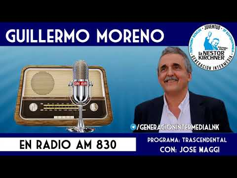 Guillermo Moreno en AM 830 16/11/17