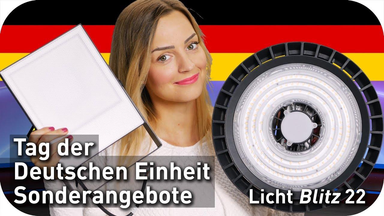 Tag der Deutschen Einheit Sonderangebote - LED-Strahler, Casambi, Highbay, Feuchtraumleuchte