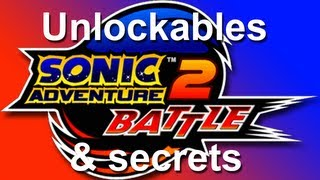 SA2B unlockables and secrets