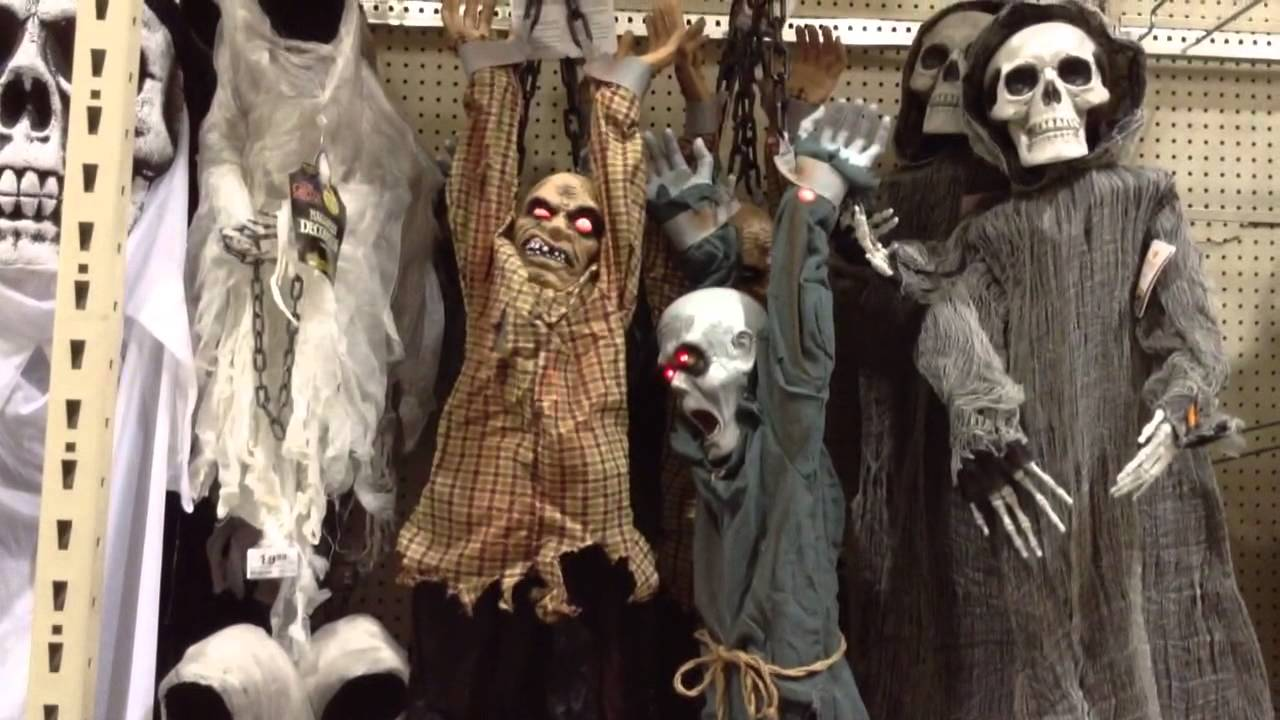 menards halloween 2015 animated zombie prisoners - Menards Halloween Decorations