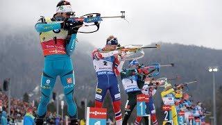 Победители этапа Кубка мира по биатлон в Поклюке