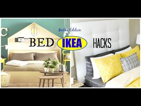 DIY IKEA Bed Hacks | Malm Edition: Ideas U0026 Inspiration   YouTube