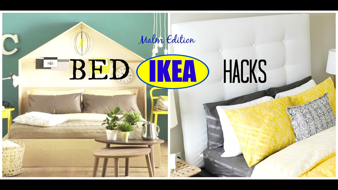 AuBergewohnlich DIY IKEA Bed Hacks | Malm Edition: Ideas U0026 Inspiration   YouTube