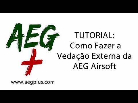 2 - Tutorial: Como Fazer a Vedação Externa da AEG Airsoft