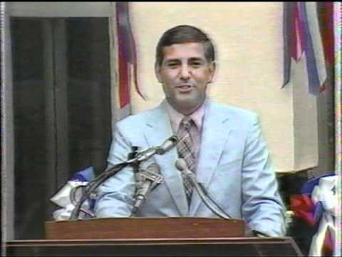 1986 Baseball Hall of Fame Ceremony 2/2