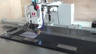 электронно-управляемая швейная машина с большого поля для текстильные стропы(, 2015-01-27T06:12:35.000Z)