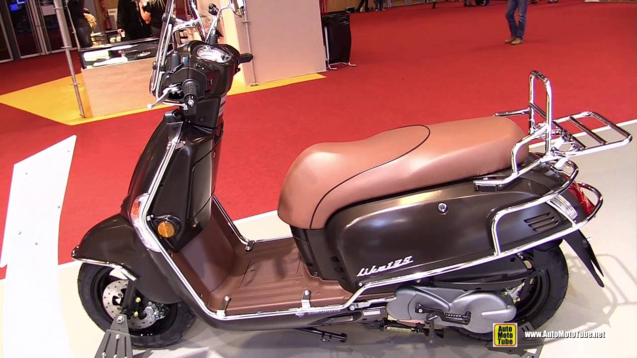 2016 kymco like 125 scooter walkaround 2015 salon de. Black Bedroom Furniture Sets. Home Design Ideas