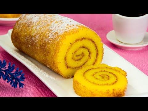 une-recette-très-réussie-de-gâteau-roulé---doux,-fin-et-facile-à-rouler-!-|-savoureux.tv
