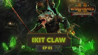 Total War: Warhammer 2 (Mortal Empires) - RAT-ICAL ENGINEERING - Skaven (Ikit Claw) Lets Play