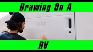 Drawing on a RV