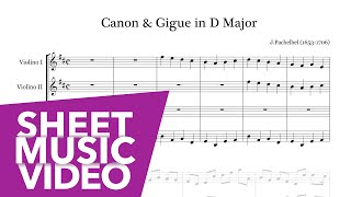 Pachelbel Canon Gigue In D Major