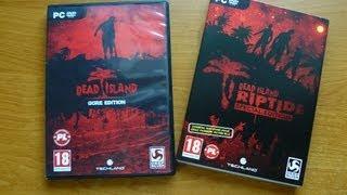 Dead Island Riptide: Special Edition + Pudełko Dead Island GE - Unboxing PL