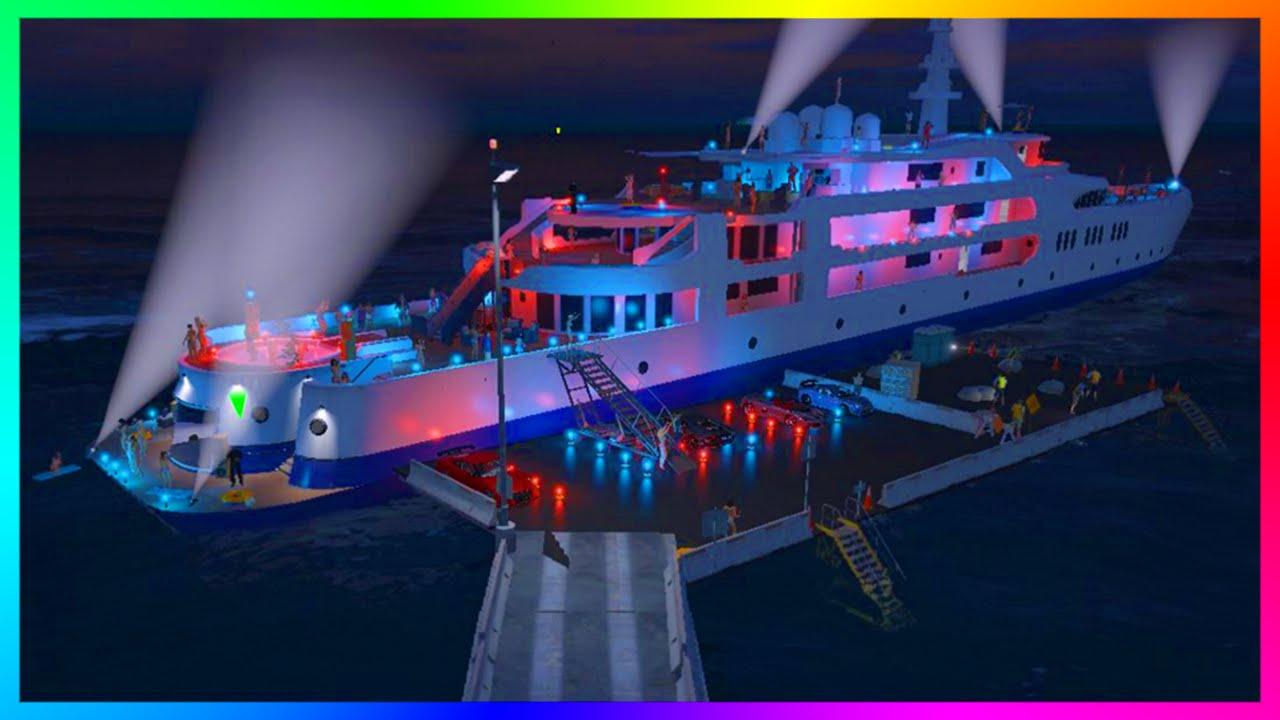 gta 5 dlc leaks purchasable yachts custom super yachts
