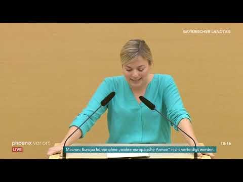 Sitzung des bayerischen Landtags zur Wahl des Ministerpräsidenten am 06.11.18