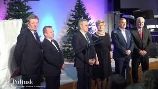 Spotkanie Opłatkowe dla mieszkańców Pułtuska i powiatu pułtuskiego