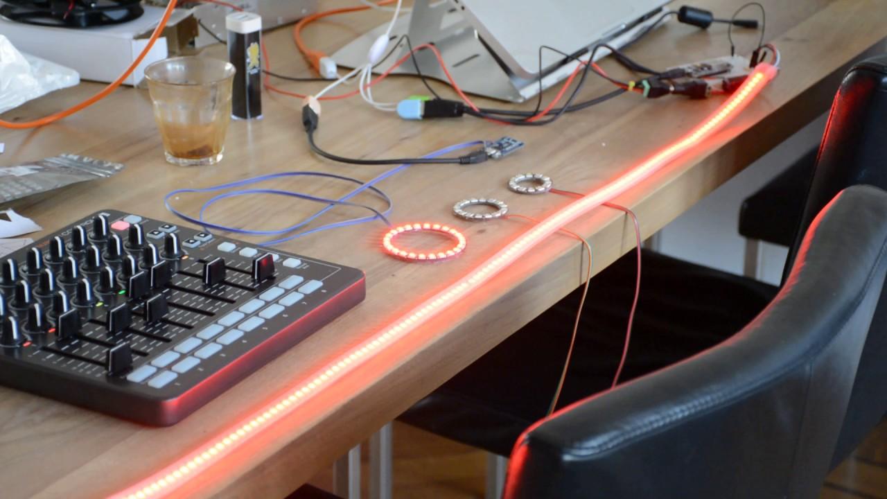ESP-8266 Artnet Neopixel - mode 10 by Robert Oostenveld