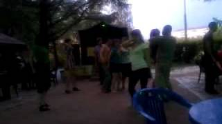 Эротишные танца в парке культуры