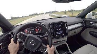 2019 Volvo XC40 T5 AWD Momentum - POV Driving Impressions (Binaural Audio)