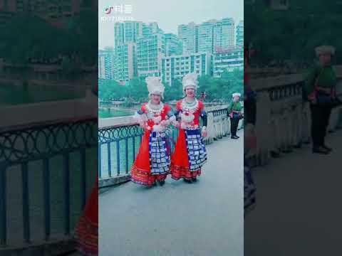 Girls of Miao tribe