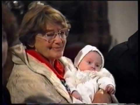 Maria Schell Taufpatin meiner Enkelin # 1.wmv