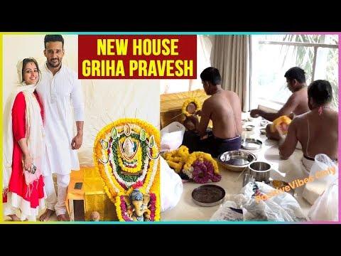 Anita Hassanandani And Rohit Reddy's NEW HOUSE Griha Pravesh