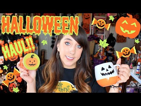 NEW HALLOWEEN HOME DECOR HAUL!!! HOMEGOODS, TJ MAXX, MARSHALLS