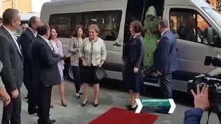 Հայաստան ժամանած առաջնորդների տիկնայք այցելեցին Մեգերյան կարպետ