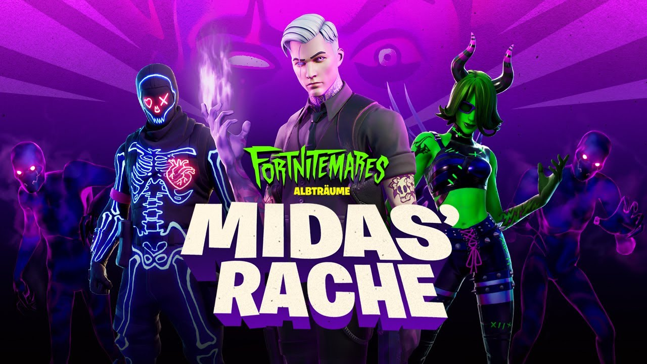 Fortnite: Albträume 2020 | Midas' Rache Gameplay-Trailer