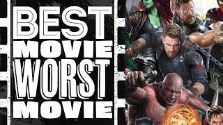 Best Movie Worst Movie - Marvel Cinematic Universe Movies (Season 1: Episode 01)