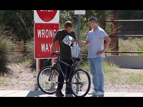 Giving New Bikes To The Homeless