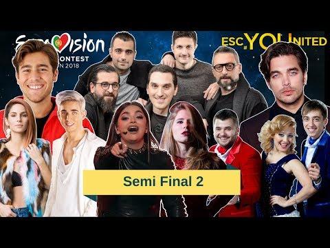 Eurovision 2018 Semi Final 2 - Running Order - Reaction & Analysis