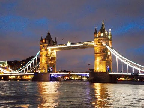 London Tower Bridge by day and night