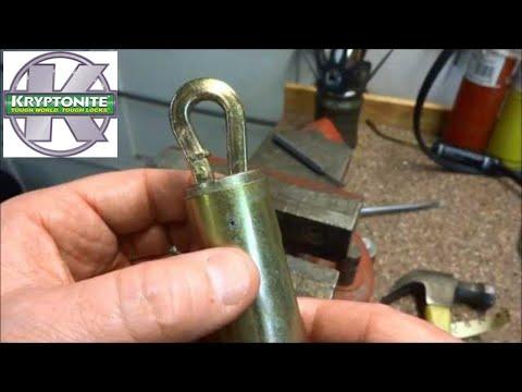 (397) Kryptonite Autopsied - One TOUGH Lock!!!