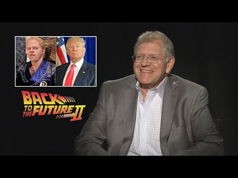 'Back to the Future 2' director predicted Donald Trump as President in 1989 Mp3