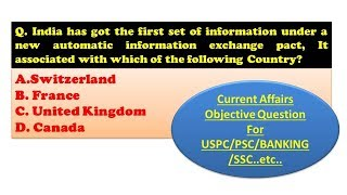 Current Affairs Objective Question Dose 0020