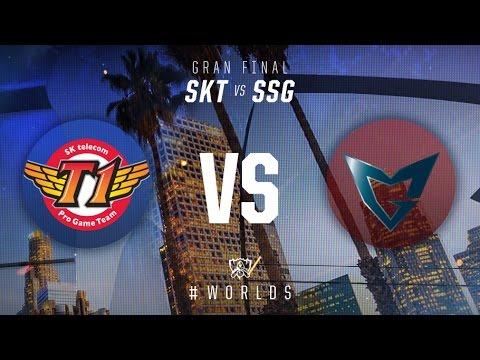 Campeonato Mundial 2016: Gran Final - SKT vs SSG
