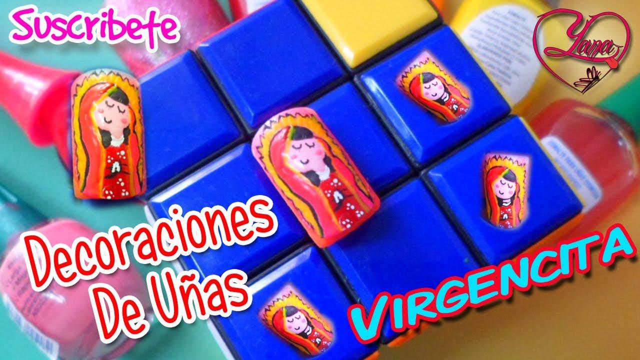 27 decorado de u as virgencita animada yana youtube - Decorados de unas ...
