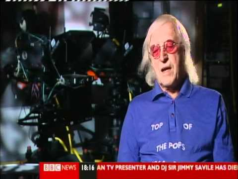 Sir Jimmy Savile (1926 - 2011) - BBC TV News reports