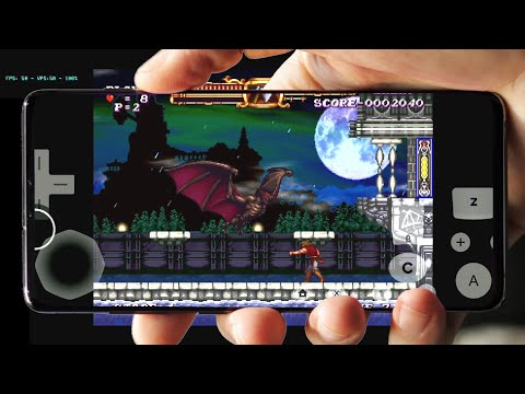 Castlevania: The Adventure ReBirth Android Gameplay | Dolphin Emulator