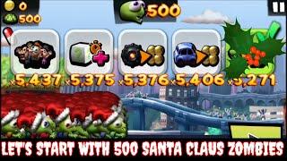 Cheat Zombie Tsunami:Let's Start With 500 Santa Claus X-Mas Zombies