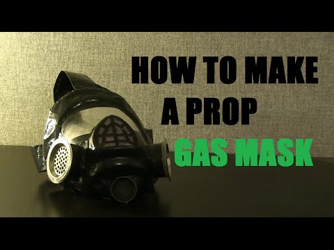 How to make a prop Gas Mask