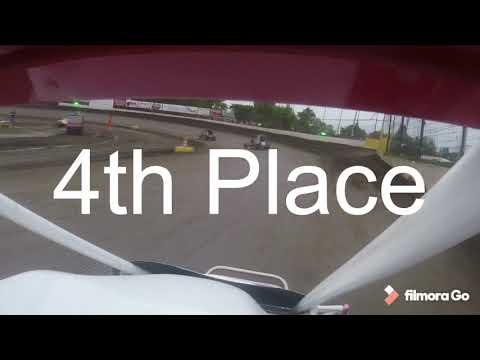 Masters Heat and Feature. - dirt track racing video image