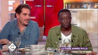 Ahmed Sylla, Yarol Poupaud et Sébastien Farran au dîner - C à Vous - 14/11/2017