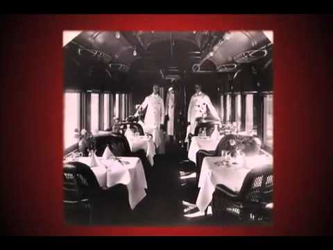 Aboard the Pullman Palace