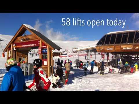 Alpe d'Huez Snow Report: 28th December 2017