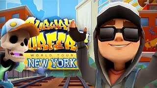 SUBWAY SURFERS GAMEPLAY FULLSCREEN - NEW YORK - JAKE DARK OUTFIT+MANNY AND 60 MYSTERY BOXES OPENING